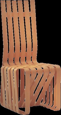 Gehry High Sticking Chair