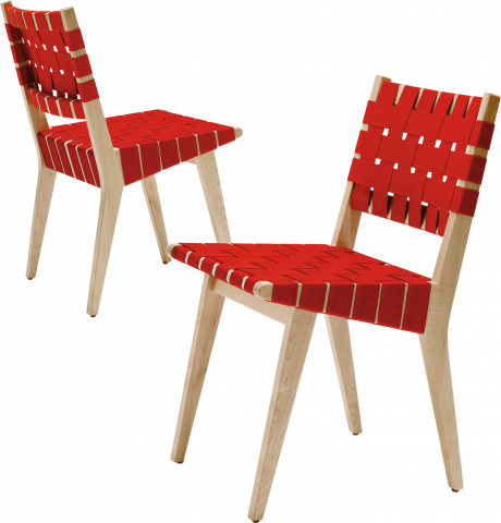 Risom Side Chairs & Stool