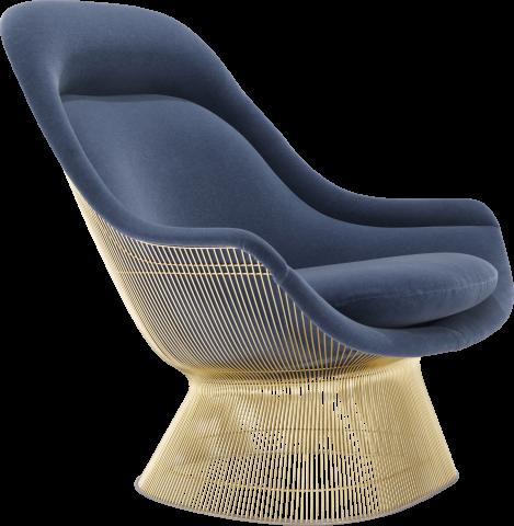 Platner Gold Easy Chair