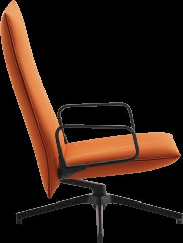 Pilot Chair and Ottoman