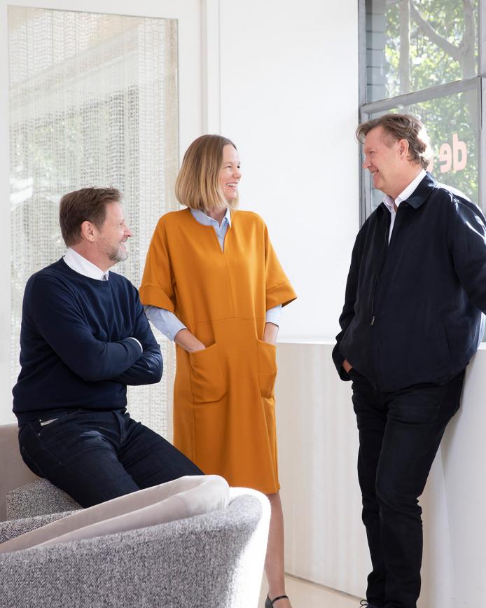 Tim, Tina and John Engelen